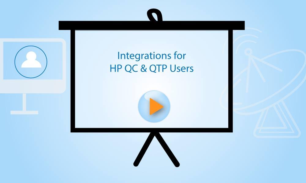 Integrations for HP QC & QTP Users