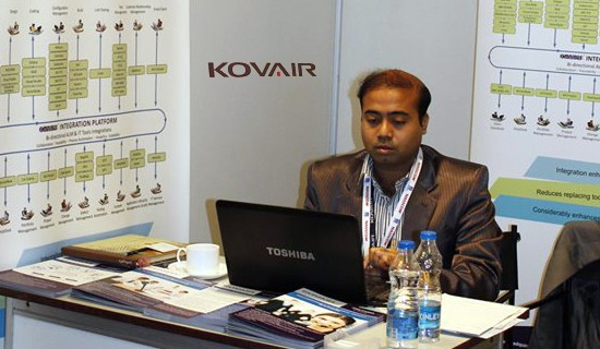 Kovair Booth at Nasscom Product Conclave 2014