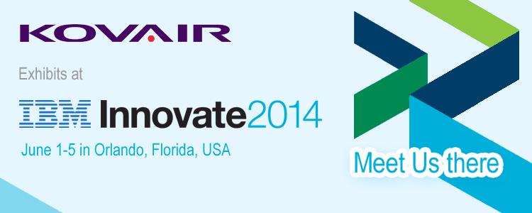Meet Kovair at IBM Innovate 2014