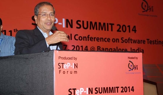 Bipin Shah at STep-In SUMMIT 2014