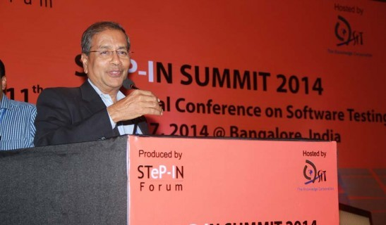 Bipin Shah at STep-In SUMMIT 2014 Conference