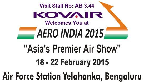 Kovair AeroIndia Invitation