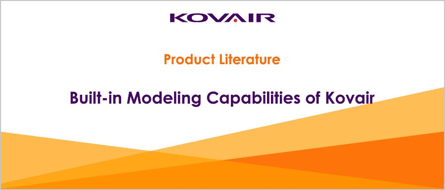 Built-in Modeling Capabilities of Kovair