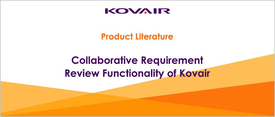 Collaborative Requirement Review Functionality of Kovair
