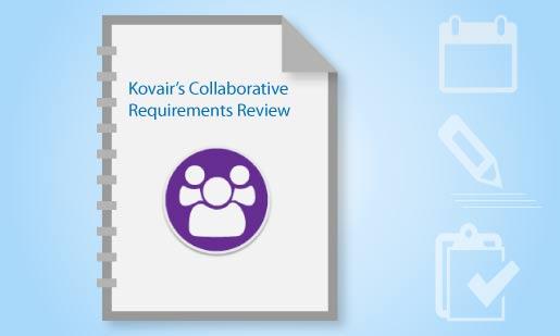Kovair Collaborative Requiremement Review