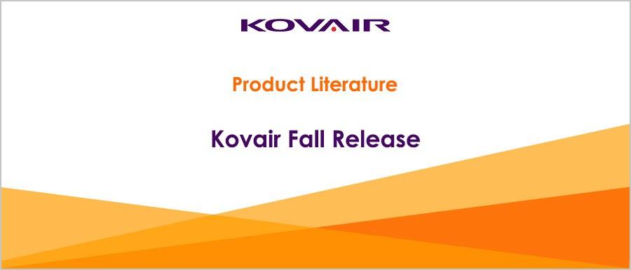 Kovair Fall Release 2015