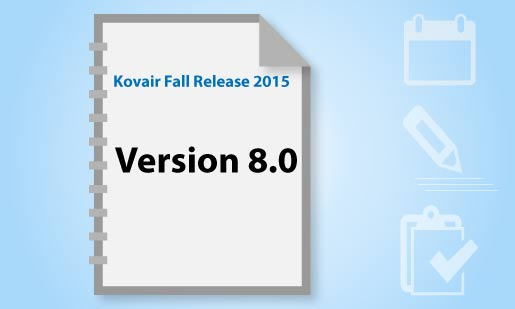Kovair Fall Release Version-8.0