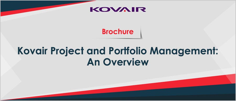 Kovair Project and Portfolio Management Overview
