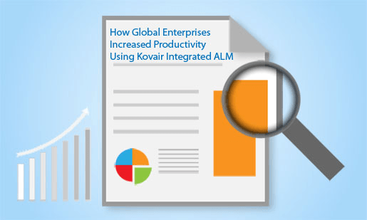 Increased Productivity and Quality with Kovair Integrated ALM