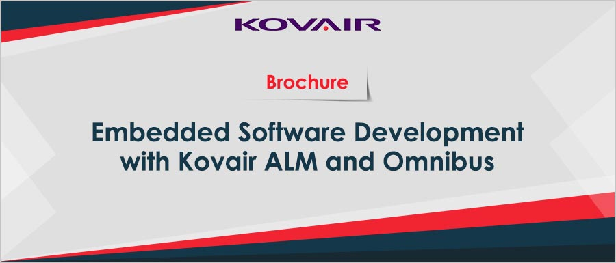Embedded Software Development with Kovair ALM and Omnibus