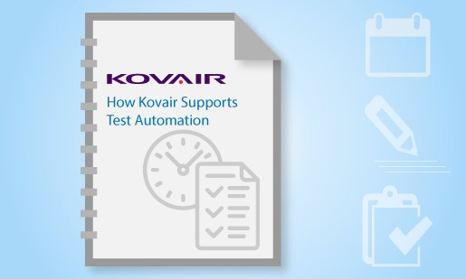 How Kovair Supports Test Automation