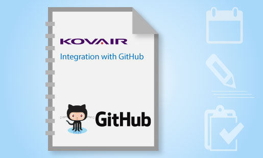 Kovair Integration with GitHub Product Literature