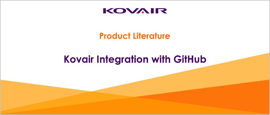 Kovair Integration with GitHub