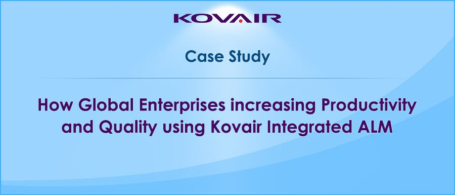 How GLOBAL ENTERPRISES INCREASED PRODUCTIVITY AND IMPROVED QUALITY USING KOVAIR INTEGRATED ALM