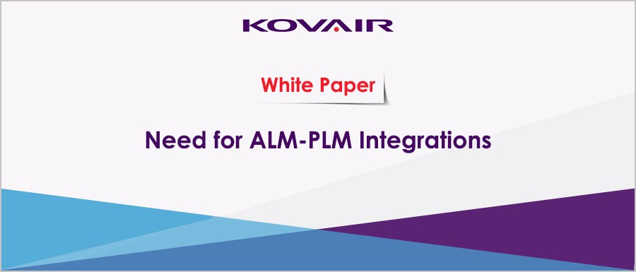 Need for ALM PLM Integrations
