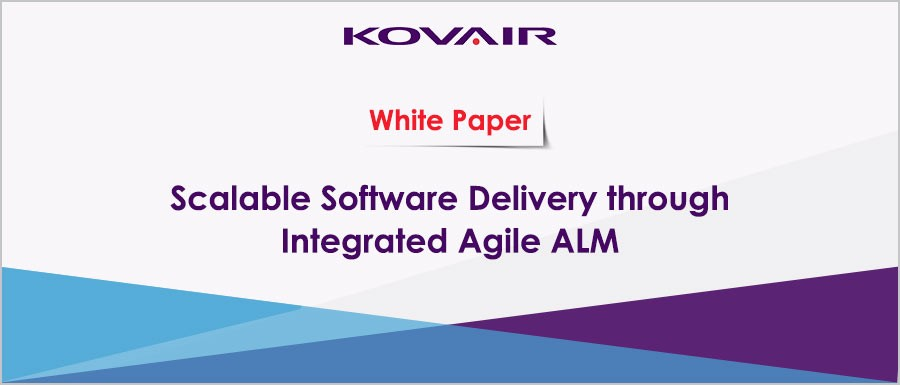Scalable Software Delivery through Integrated Agile ALM