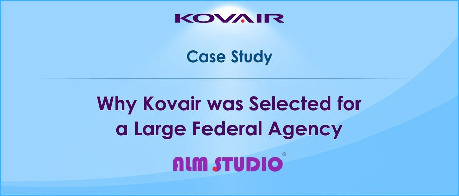 Kovair was Selected for a Large Federal Agency