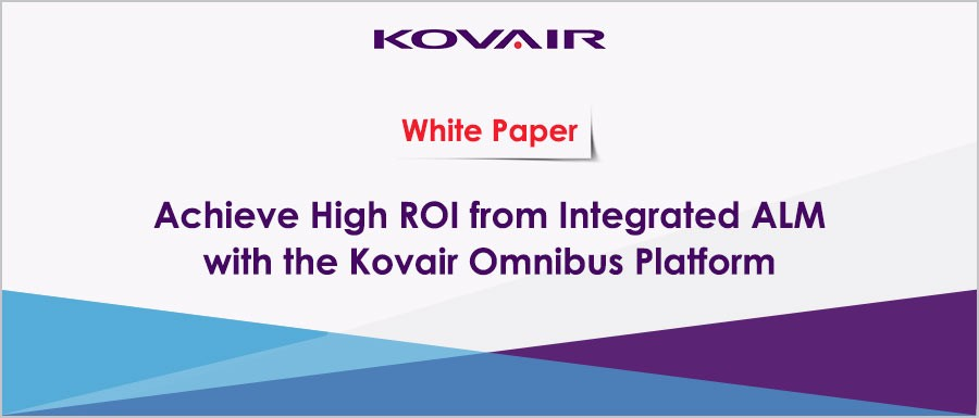 Achieve High ROI from Integrated ALM