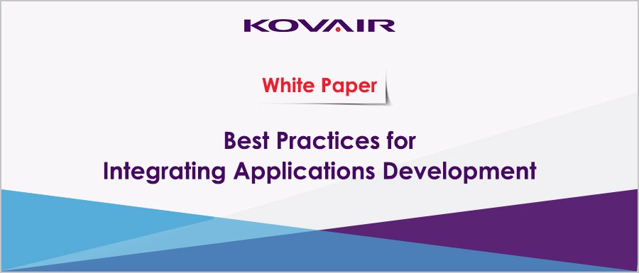 Best Practices for Integrating Applications Development