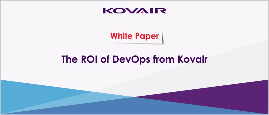 The ROI of DevOps from Kovair