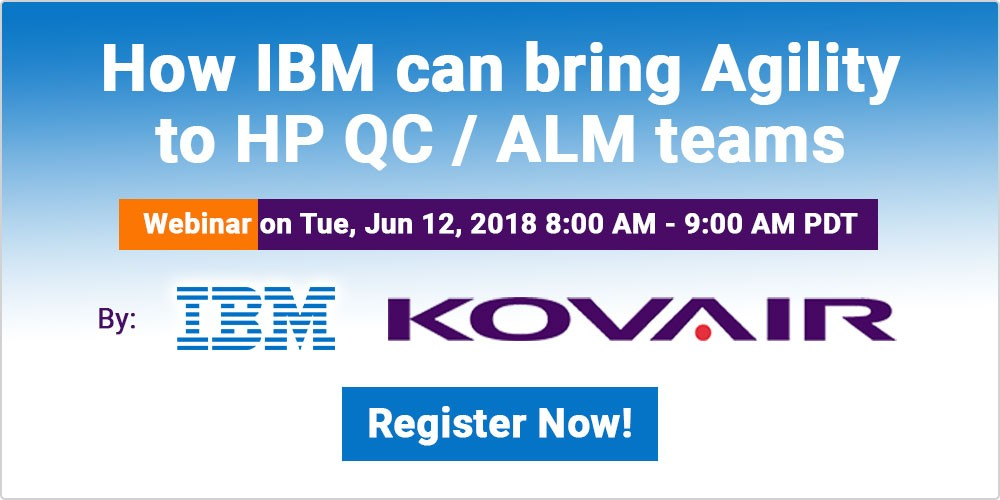 How IBM Can Bring Agility to HP QC / ALM teams
