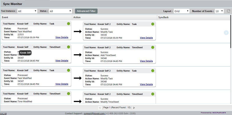 Sync Monitor with Enhanced Grid Display