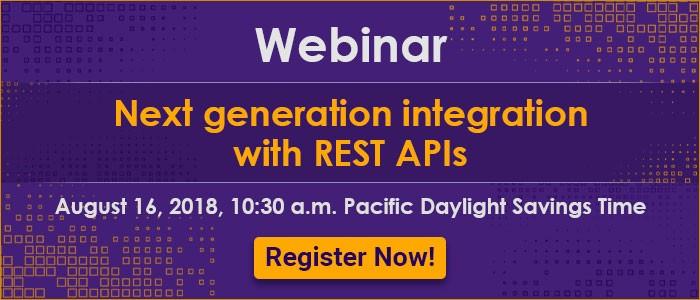 Next Generation Integration with REST APIs