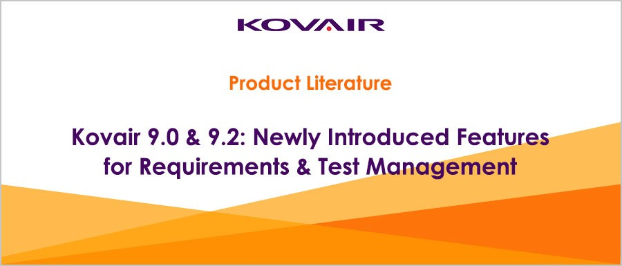 Features for Requirements & Test Management