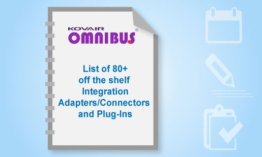 List of 80+ off the shelf Integration Adapters/Connectors and Plug-Ins
