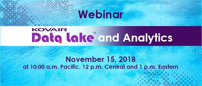 Data Lake and Analytics Webinar