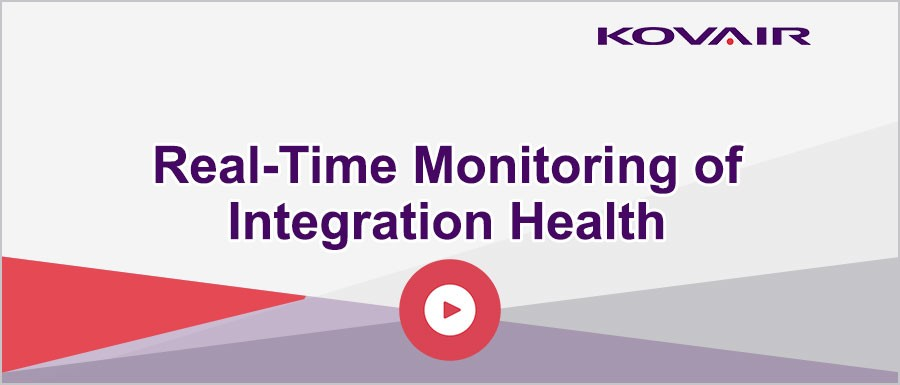 Real-Time Monitoring of Tool Integration Health