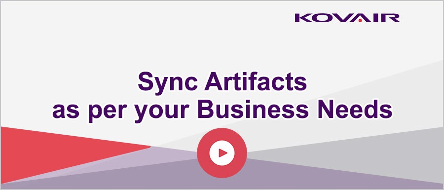 Sync Artifacts as per your Business Needs