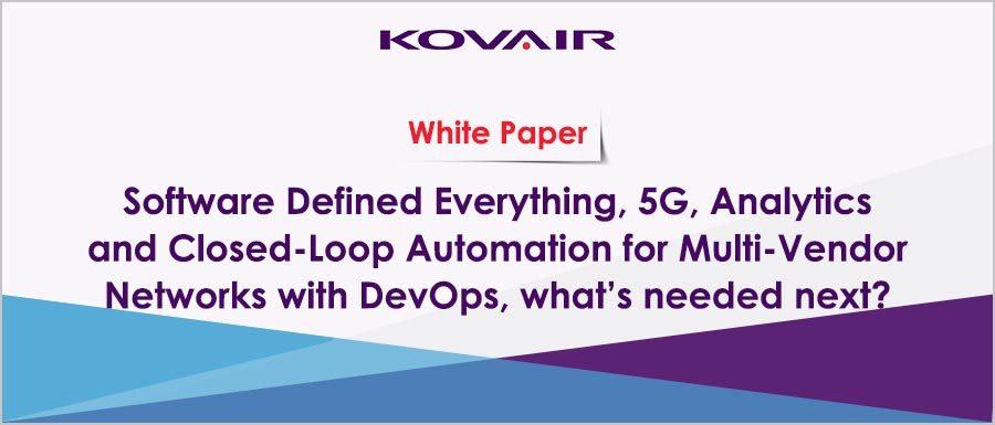 5G Analytics and Closed-Loop Automation for Multi-Vendor Networks with DevOps