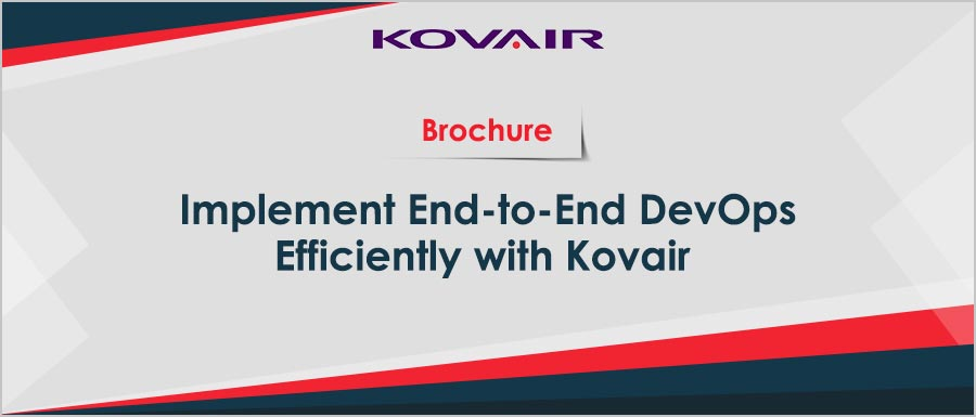 Implement End-to-End DevOps efficiently with Kovair