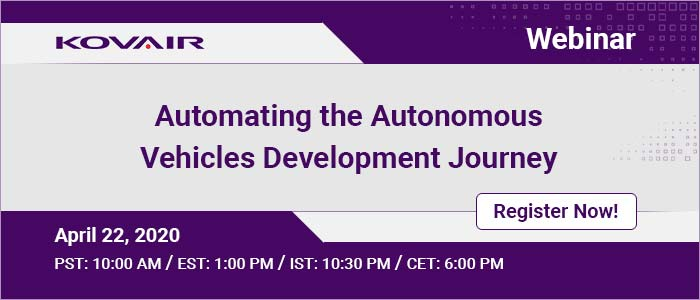 Automating the Autonomous Vehicles Development Journey
