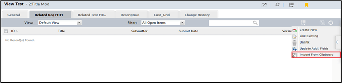 Excel import - Import data through copy from clipboard