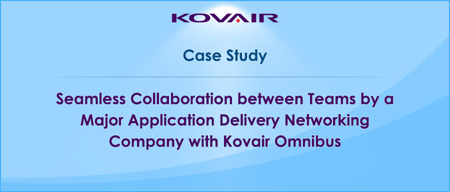 Seamless Collaboration between Teams by a Major Application