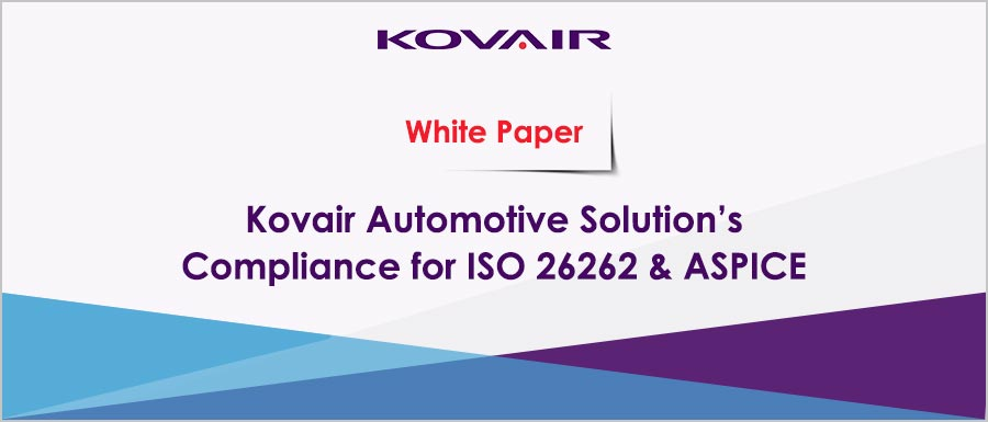 Kovair Automotive Solution Compliance for ISO